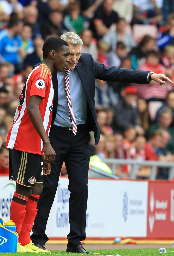 David Moyes seems to be not the only person who has seen Asoro's potential with as many as eight top European clubs including the likes of Arsenal, Bayern Munich and Paris Saint-Germain monitoring his progress at Sunderland. (Picture Courtesy - AFP/Getty Images)