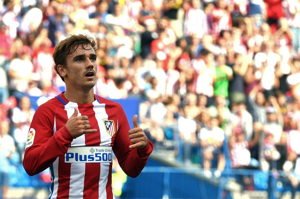 Griezmann has revealed David Beckham as his idol and has said that even though he hasn't had a chance to meet and chat with the United legend, he would love to sit down and talk with his boyhood idol. (Picture Courtesy - AFP/Getty Images)