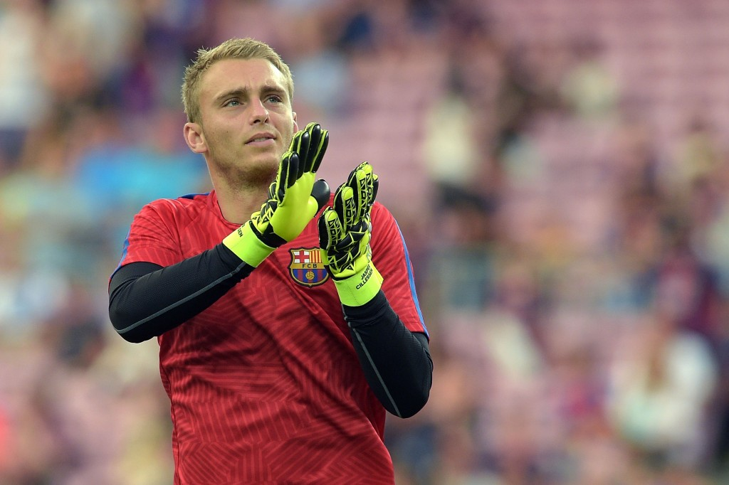 Jasper Cillessen did not have the best of starts at Barcelona as he conceded two goals on his home debut for the Blaugranes in a shock defeat to Alaves. (PIcture Courtesy - AFP/Getty Images)