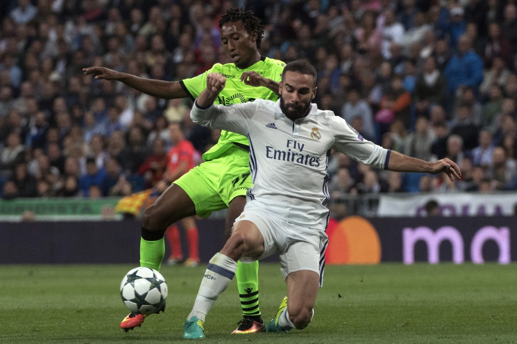 Gelson earned plaudits for his performance against Real Madrid and is now reportedly on the radar of Manchester United and Real Madrid. (Picture Courtesy - AFP/Getty Images)
