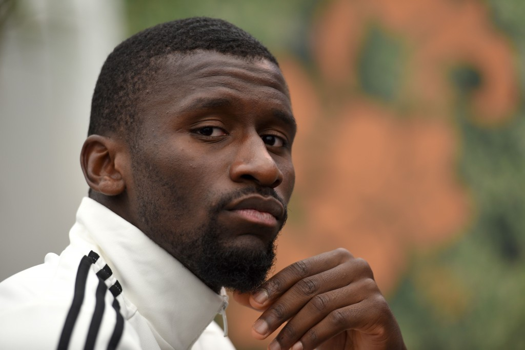 Rudiger has a point to prove. (Photo by Patrik Stollarz/AFP/Getty Images)
