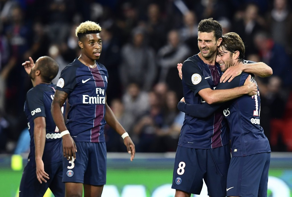 Kimpembe has slowly captured a regular place in the starting lineup at PSG and is starting to attract interest from a host of top clubs. (Picture Courtesy - AFP/Getty Images)