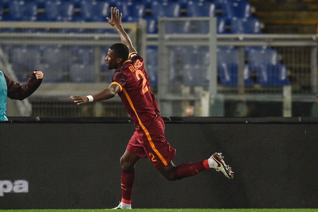 Rudiger has quickly become an almost indispensable member of the Roma squad but reports are claiming that the player could be available for 30m. (Picture Courtesy - AFP/Getty Images)
