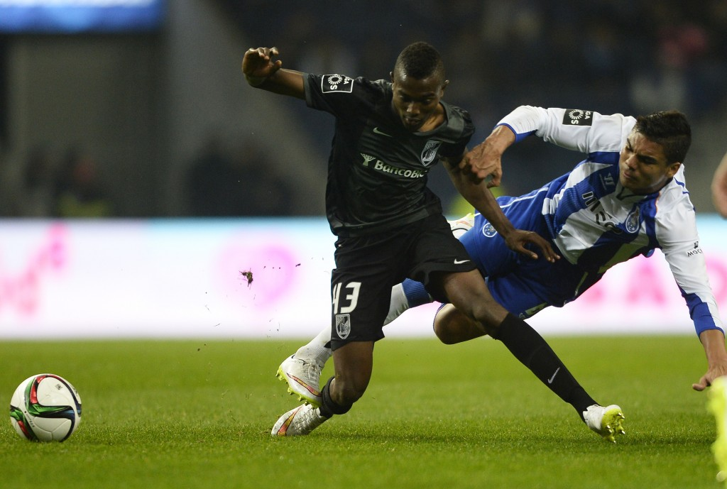 Bernard Mensah has returned, albeit temporarily, to the club where he shot to fame in the first place as he attracts interest from top European clubs. (Picture Courtesy - AFP/Getty Images)