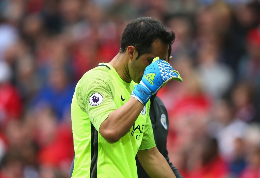 A Champions League night to forget for the veteran goalkeeper. (Picture Courtesy - AFP/Getty Images)