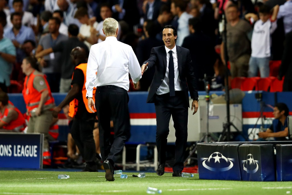 Arsene Wenger has made it publicly known of his relationship with PSG and its hierarchy and Le Parisien have reported that the Frenchman rejected a move for Adrien Rabiot due to the same reason. (Picture Courtesy - AFP/Getty Images)