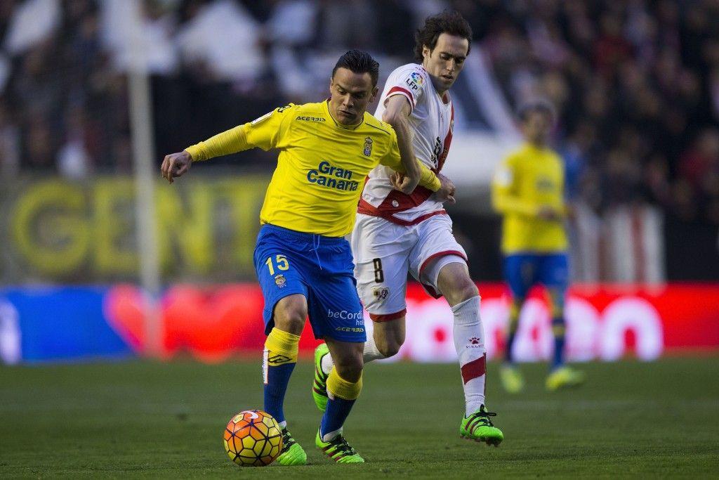 Las Palmas' performance has taken the La Liga by storm and Roque Mesa has been lauded to be the heart of the club's midfield. (Picture Courtesy - AFP/Getty Images)