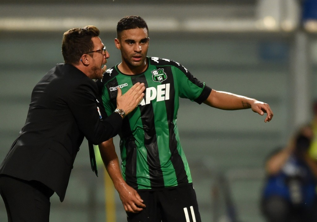 The player has quickly become an integral part of Eusebia Di Francesco's plans at Sassuolo and the club is likely to be unwilling to listen to any offers for the 25-year-old at the present moment. (Picture Courtesy - AFP/Getty Images)