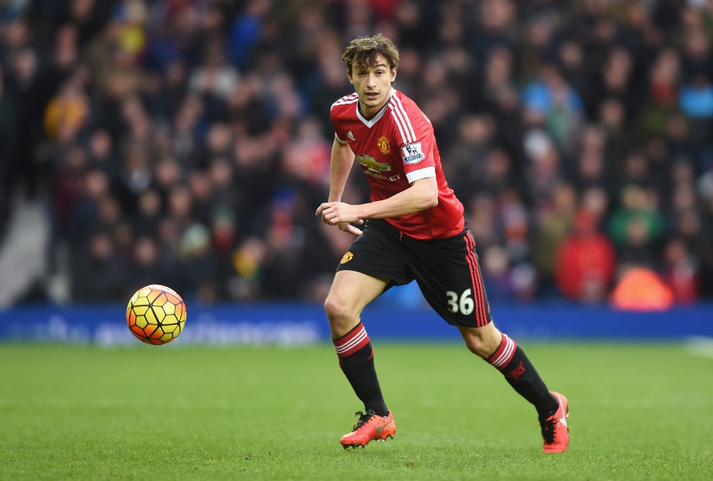 WEST BROMWICH, ENGLAND - MARCH 06: Matteo Darmian of Manchester United in action during the Barclays Premier League match between West Bromwich Albion and Manchester United at The Hawthorns on March 6, 2016 in West Bromwich, England. (Photo by Michael Regan/Getty Images)