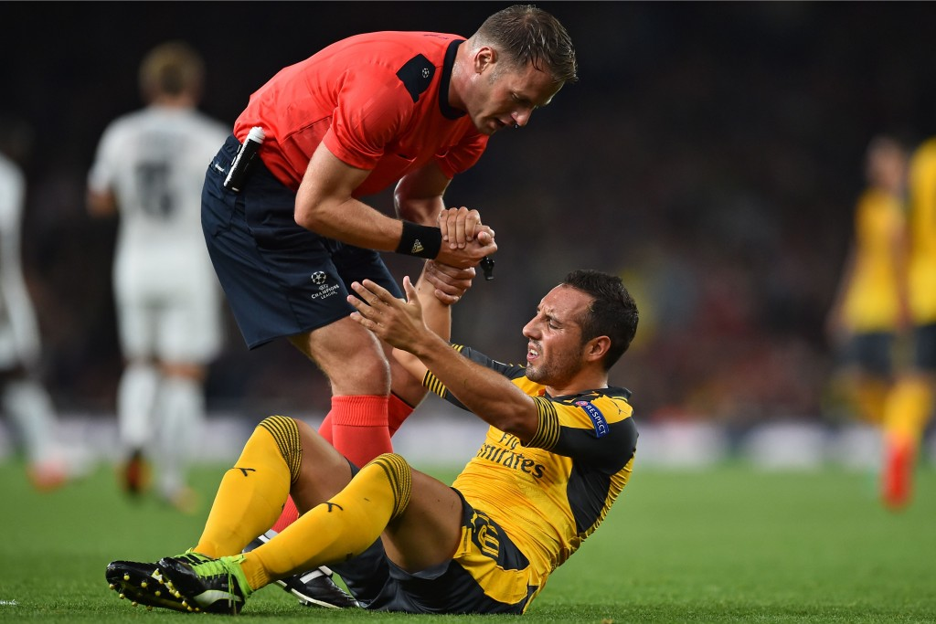The trio of Spanish clubs would looking to pick Cazorla up in case Arsenal drops the ball with respect to his contract. (Picture Courtesy - AFP/Getty Images)