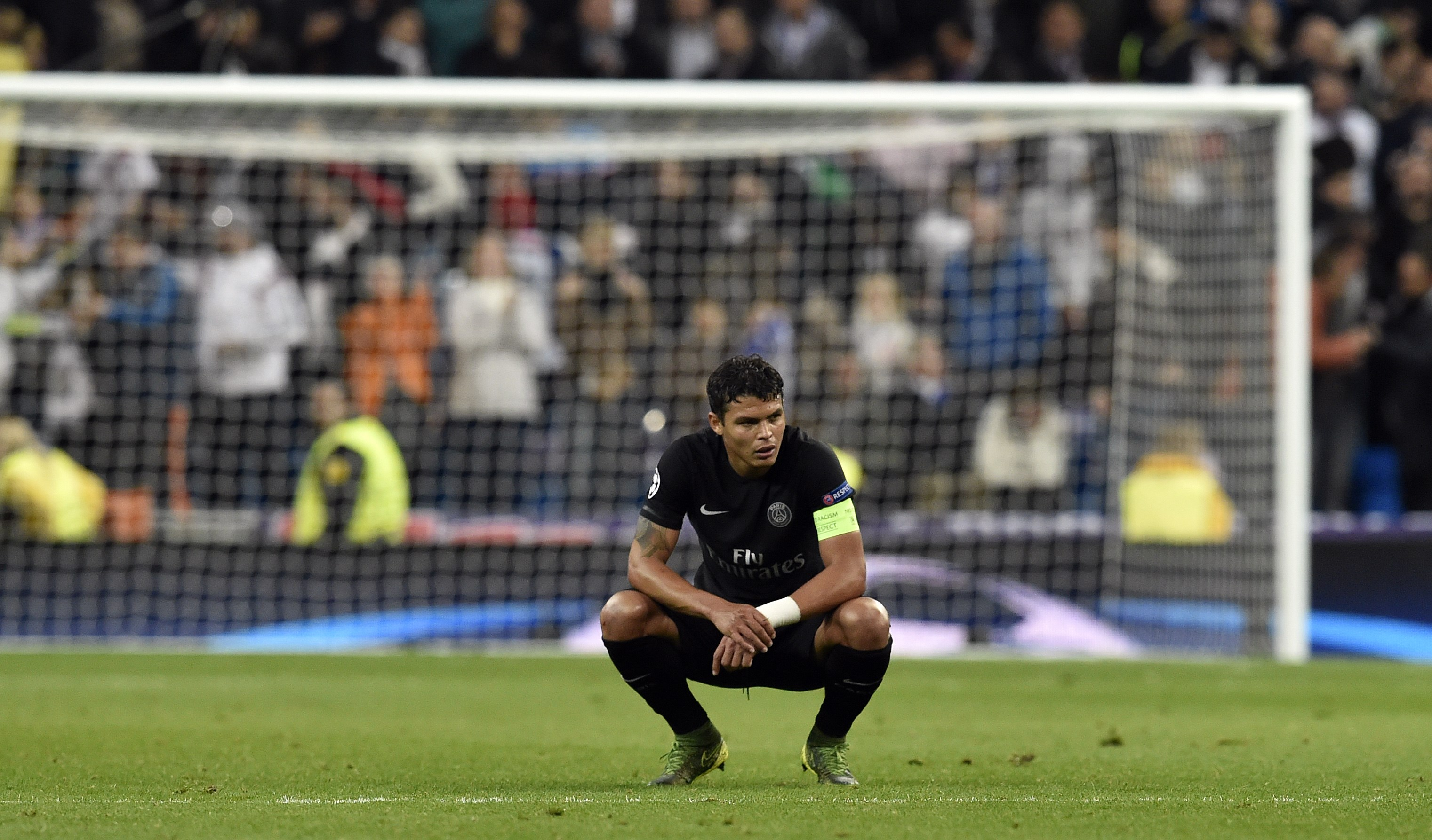 Thiago Silva's massive UCL experience will be critical for Chelsea. (Photo by Gerard Julien/AFP/Getty Images)