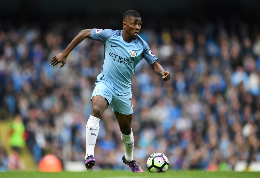 Kelechi Iheanacho has been less than impressive this season for Manchester City. (Photo by Laurence Griffiths/Getty Images)