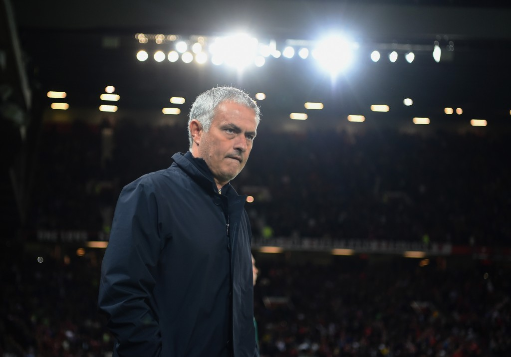 Jose Mourinho would not be too satisfied with the display on Thursday night and is likely to make his players known of his thoughts about the performance. (Picture Courtesy - AFP/Getty Images)