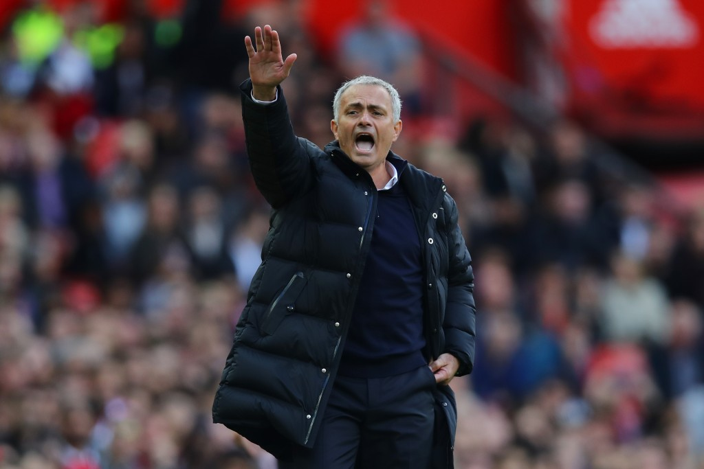 Under Pressure : Jose Mourinho hasn't had the best start to his reign as Manchester United manager (Photo by Clive Brunskill/Getty Images)