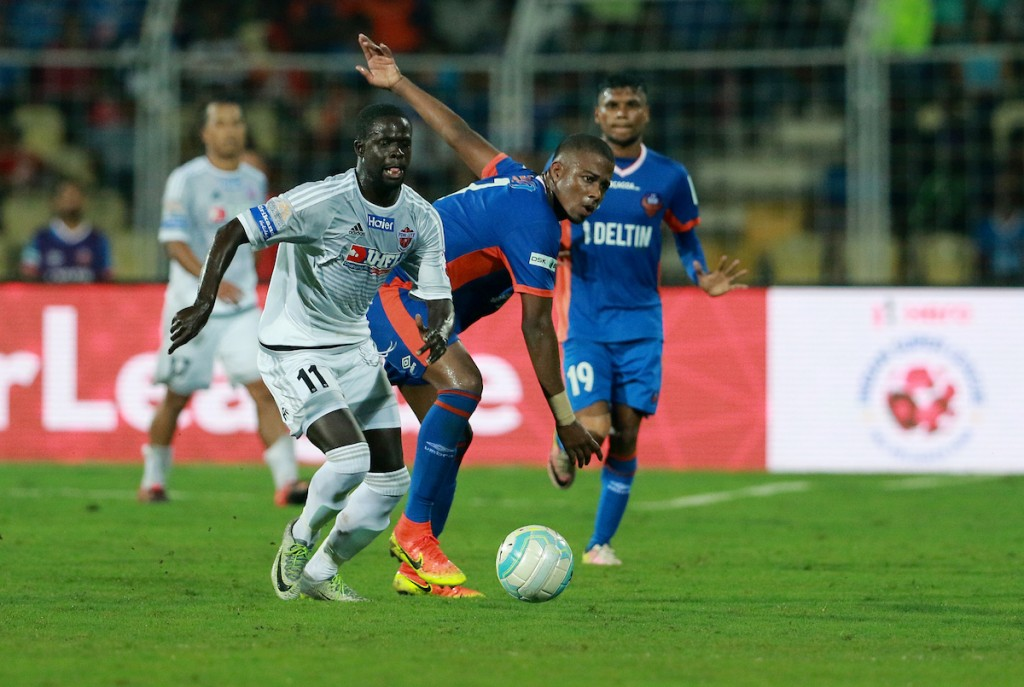A late Momar strike the difference as FC Pune City edge Zico's Goa side.