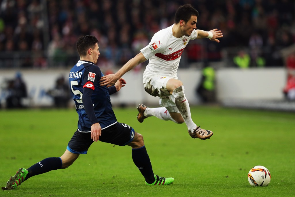Fabian would Schar-ly be pleased with news of interest from Liverpool and Inter Milan. (Picture Courtesy - AFP/Getty Images)