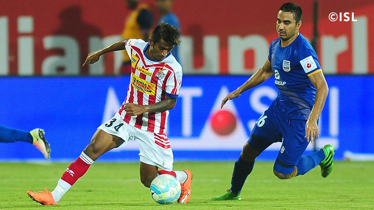The previous meeting between Atletico de Kolkata and Mumbai City FC resulted in a stalemate.