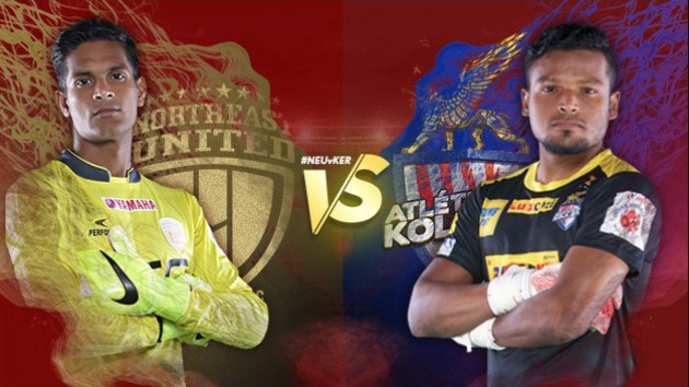 Battle of the Keepers (Picture Courtesy - ISL)