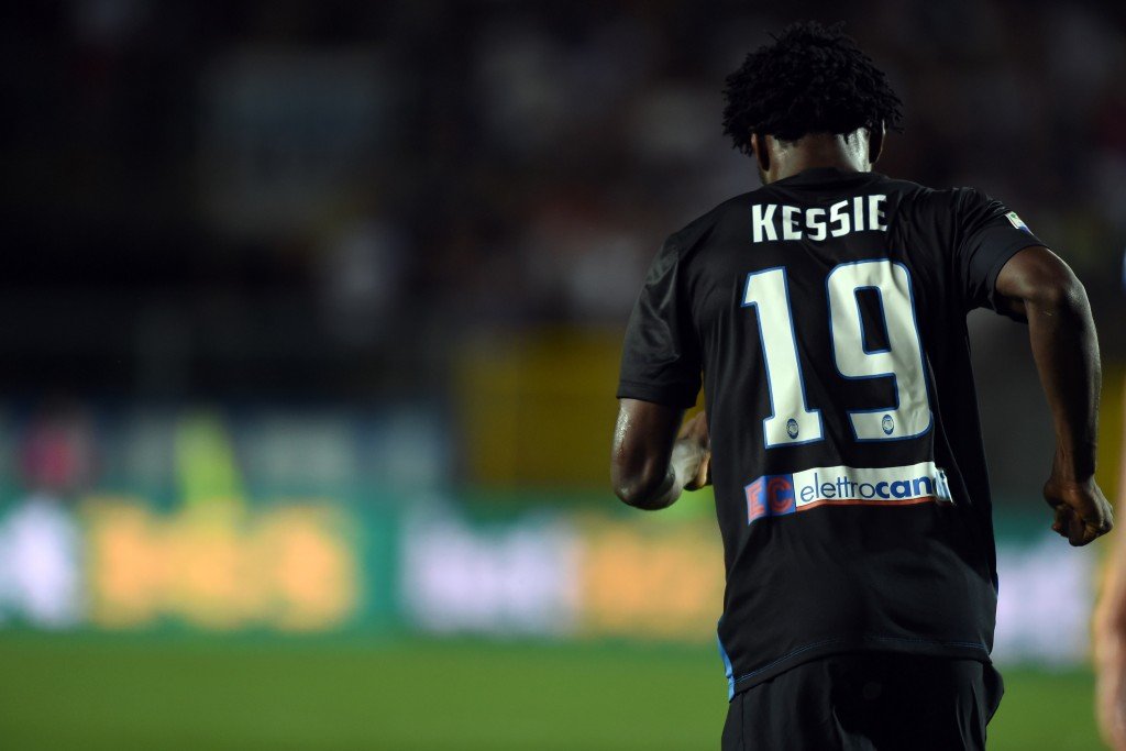 On his way towards the top and maybe on his way out of Atalanta? (Picture Courtesy - AFP/Getty Images)