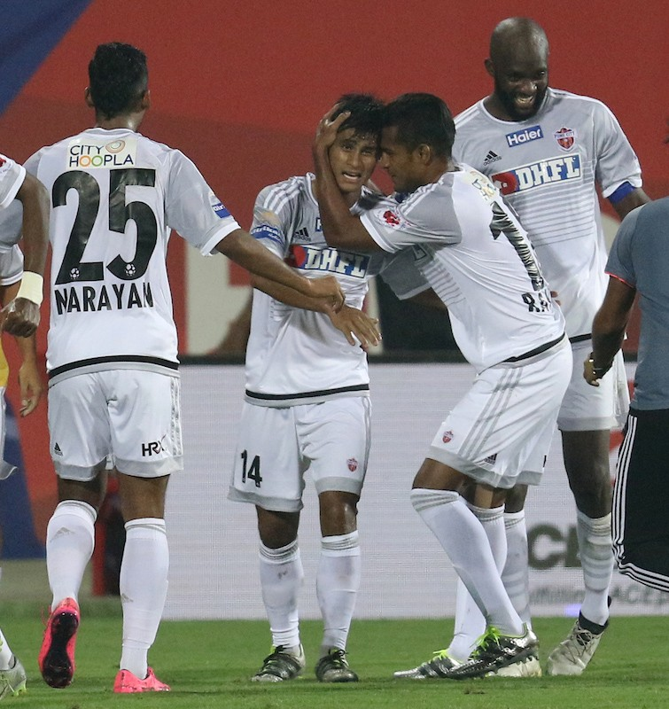 Lyngdoh is set to be an integral part of another crunch match as FC Pune City seek a semi-final berth. (Picture Courtesy - AFP/Getty Images)
