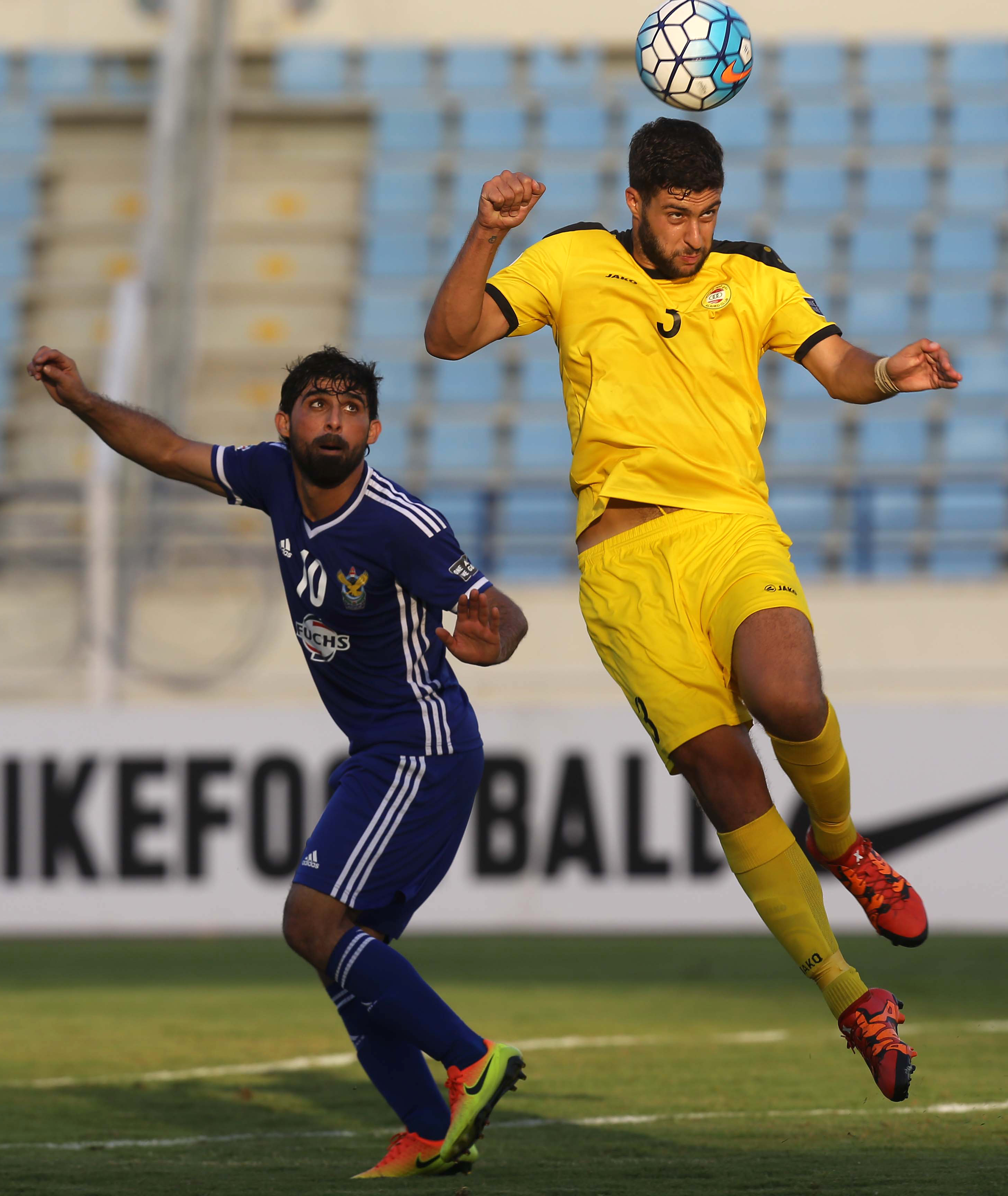 Hammadi Ahmad will be the key player for Air Force Club yet again. / AFP / STRINGER
