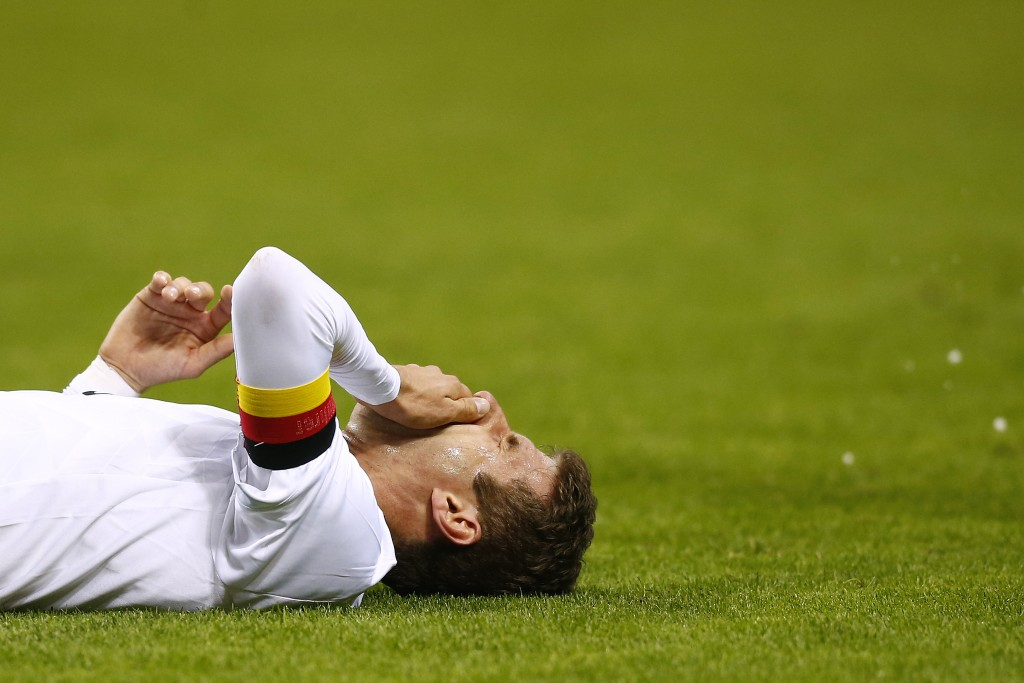 More misery for Muller. (Picture Courtesy - AFP/Getty Images)