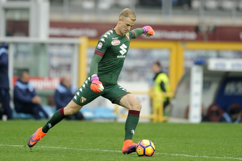 TURIN, TORINO - OCTOBER 23: Joe Hart of FC Torino in action during the Serie A match between FC Torino and SS Lazio at Stadio Olimpico di Torino on October 23, 2016 in Turin, Italy. (Photo by Getty Images/Getty Images)