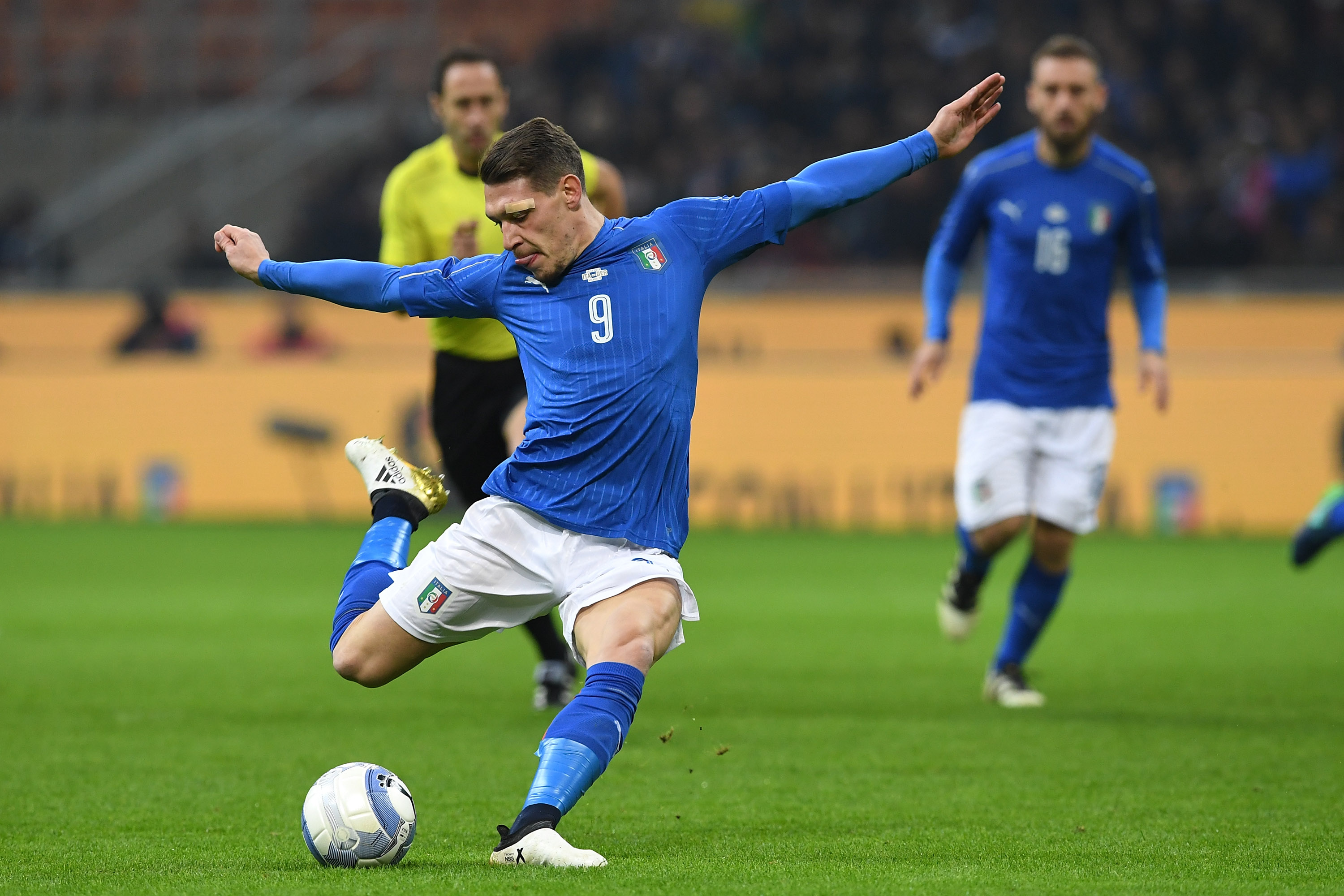 Belotti will be itching to add to his goal tally for Italy (Photo by Valerio Pennicino/Getty Images)
