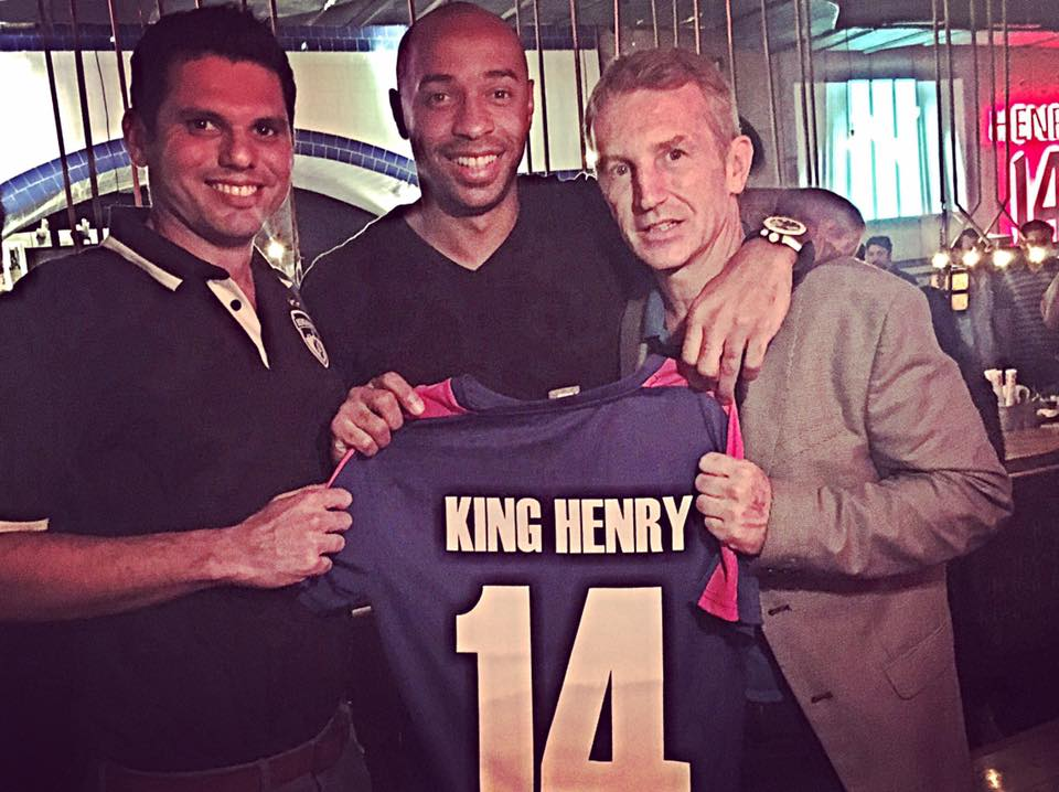 Thierry Henry - Latest Addition to Bengaluru FC' s Friend Club