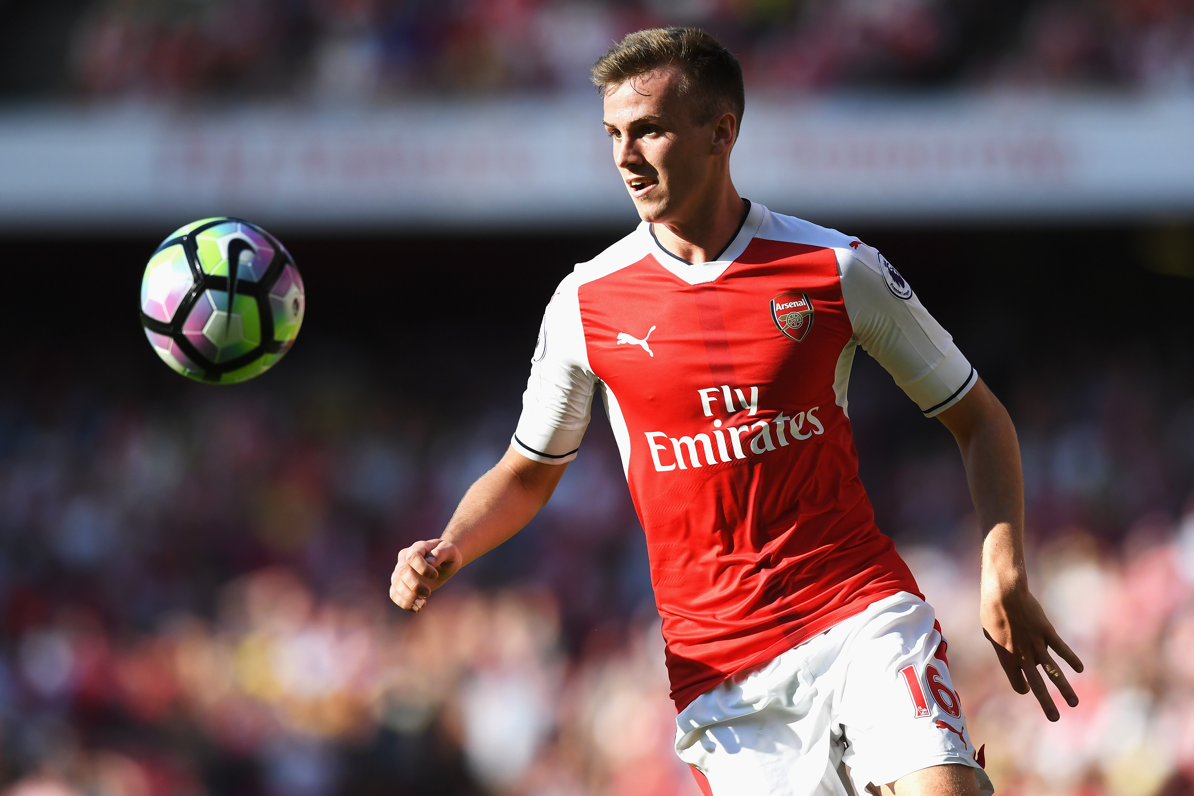 Arsenal should try and integrate Bielik in the same way they made Rob Holding an important player. (Photo courtesy: AFP/Getty)