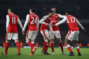 Dominant Arsenal go top of the table with 3-1 win over Stoke City [Best Tweets]