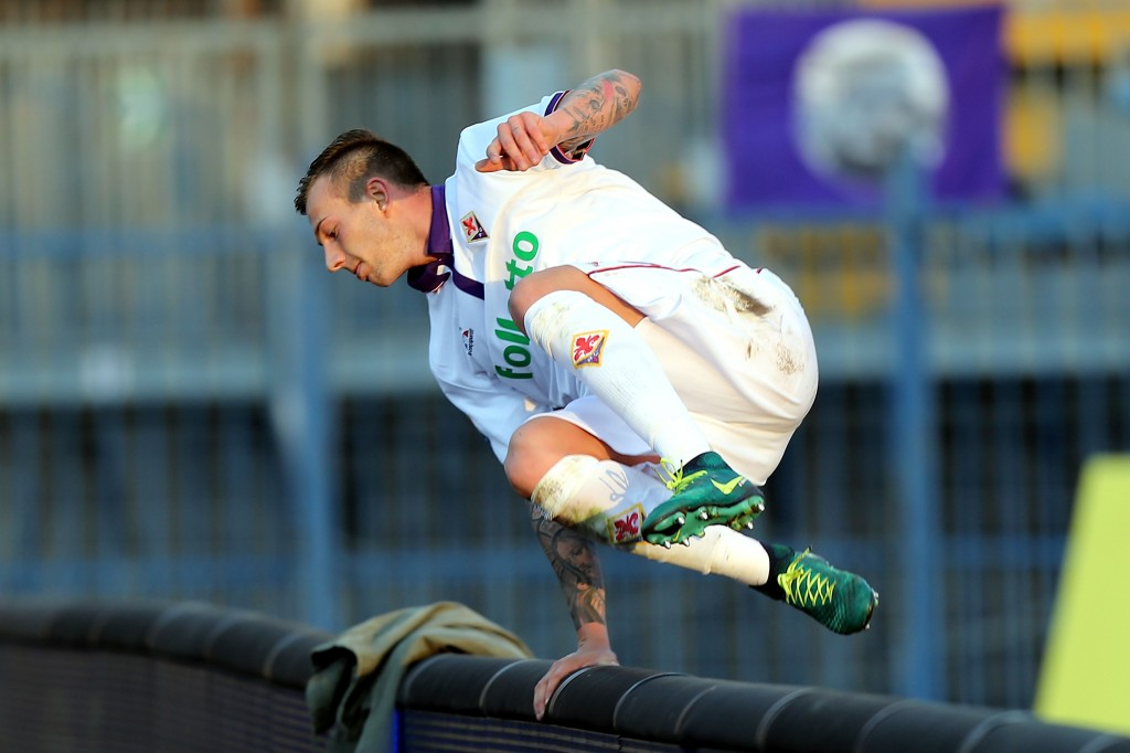 Ready to cross the Serie A fence into the Premier League? (Picture Courtesy - AFP/Getty Images)