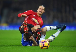 """Zlatan denies kicking Seamus Coleman intentionally, claims he can make opponent """"fall asleep"""" if he did [Video]"""