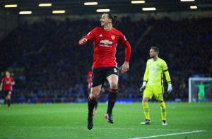 Everton 1-1 Manchester United: Zlatan gives Red Devils the lead before Baines's late equaliser [Video]