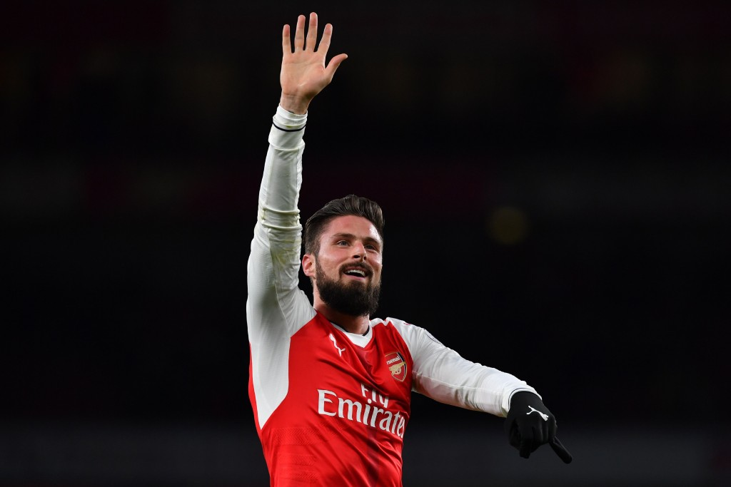 CanGiroud grab another crucial three points for Arsenal? (Picture Courtesy - AFP/Getty Images)
