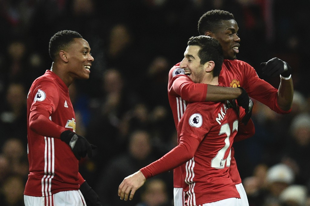 Martial has been advised to follow in the footsteps of teammate Henrikh Mkhitaryan. (Photo by Oli Scarff/AFP/Getty Images)
