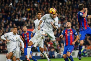 Barcelona 1-1 Real Madrid: Sergio Ramos heads in late leveller to ensure an El Clasico stalemate [Video]