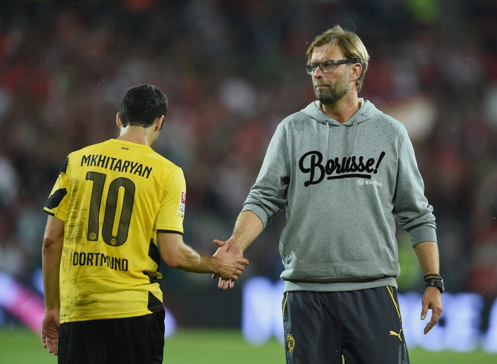 Could have still played under Klopp, albeit in a red shirt. (Picture Courtesy - AFP/Getty Images)
