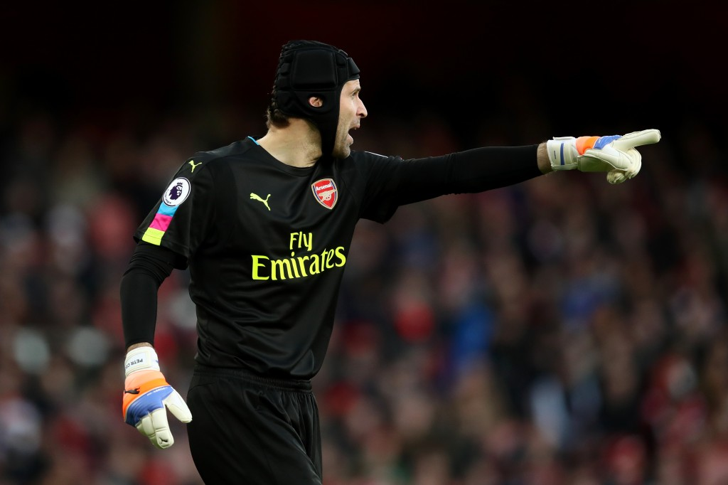 Going strong - Petr Cech has been the dependable rock between the sticks for Arsenal. (Photo courtesy - Julian Finney/Getty Images)