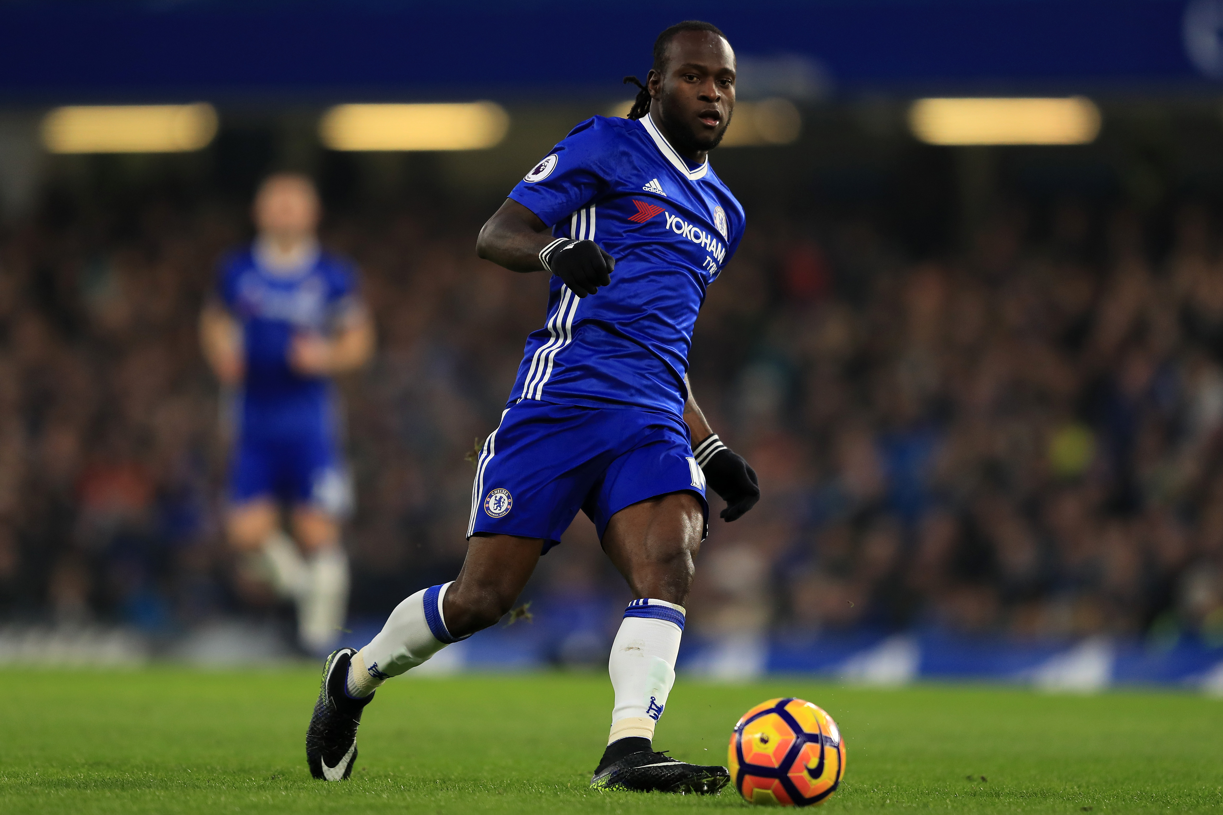 Victor Moses has been one of the beneficiaries of Conte's first season (Photo courtesy Richard Heathcote/Getty Images)