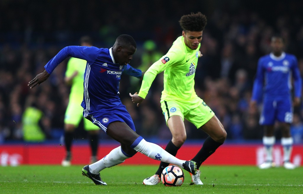 A strong and steady return back into the Chelsea side for Kurt Zouma. (Photo by Ian Walton/Getty Images)