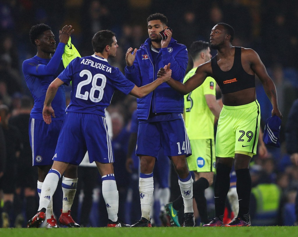 An Impressive Outing - Nathaniel Chalobah and Ruben Loftus-Cheek had a match to remember for Chelsea. (Photo by Ian Walton/Getty Images)