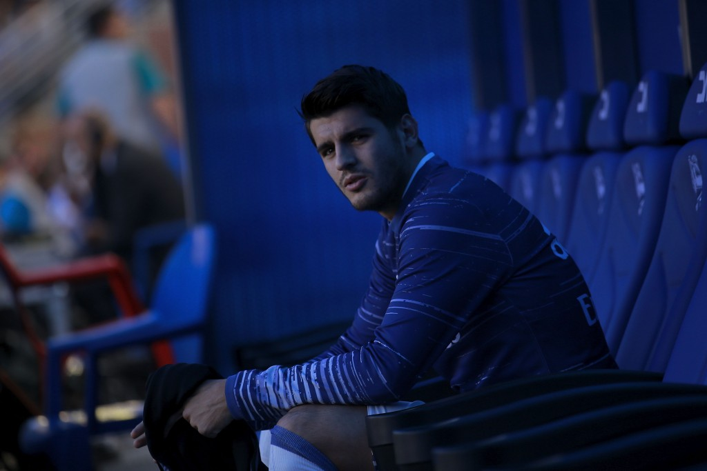 Alvaro Morata has grown frustrated with warming the benches at Real Madrid. (Photo courtesy - Gonzalo Arroyo Moreno/Getty Images)