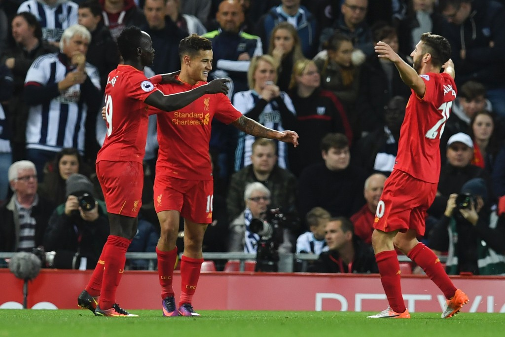 The onus will be on the trio and Firmino to push Liverpool to their first league win in the calendar year. (Picture Courtesy - AFP/Getty Images)
