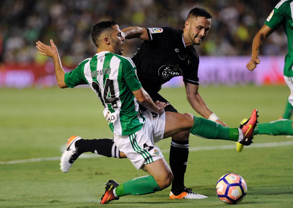 Durmisi has impressed since his move to Real Betis. (Photo courtesy - Cristina Quilcer/AFP/Getty Images)