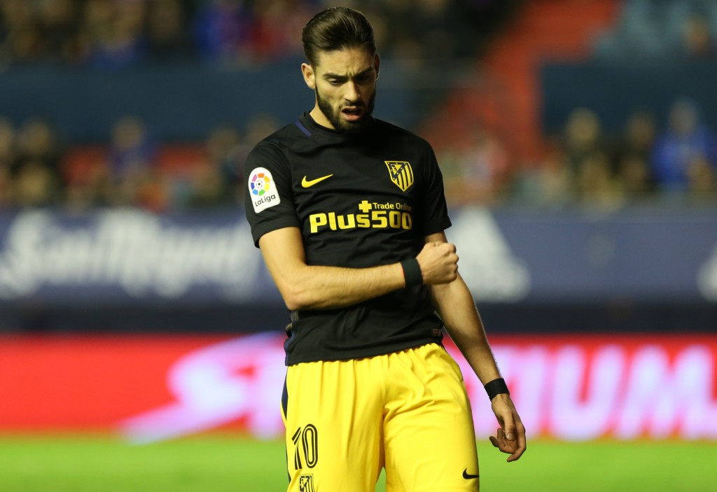 Yannick Carrasco is reportedly unhappy at Atletico Madrid. (Photo courtesy - Cesar Manso/AFP/Getty Images)