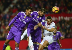 Real Madrid fans express support for Sergio Ramos after Spaniard's own goal triggers end of unbeaten run [Best Tweets]