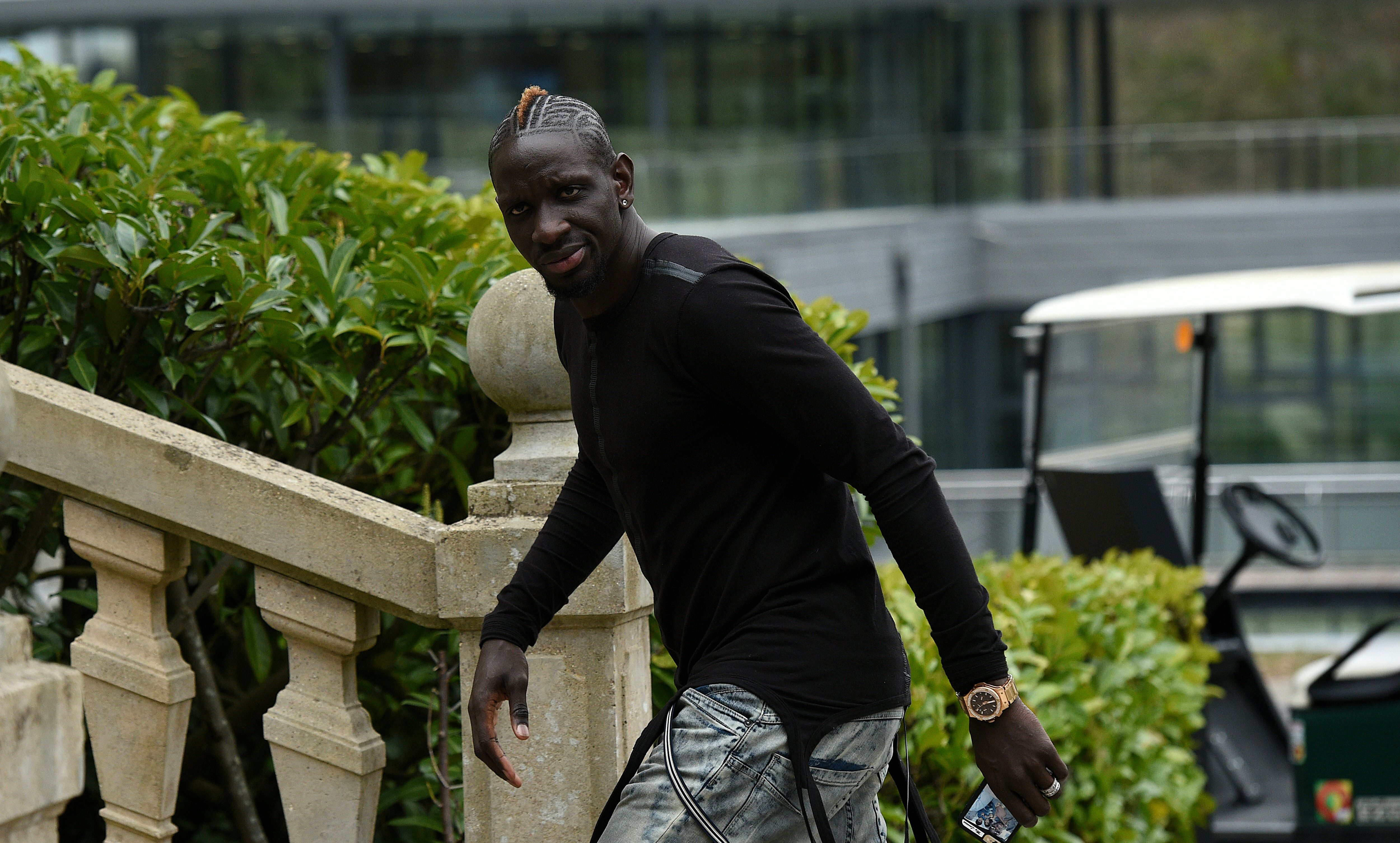 France's defender Mamadou Sakho arrives at the French national football team training base in Clairefontaine on March 21, 2016 on the first day of their training ahead of the friendly football match against The Netherlands to be held on March 25. (Photo by Franck Fife/AFP/Getty Images)