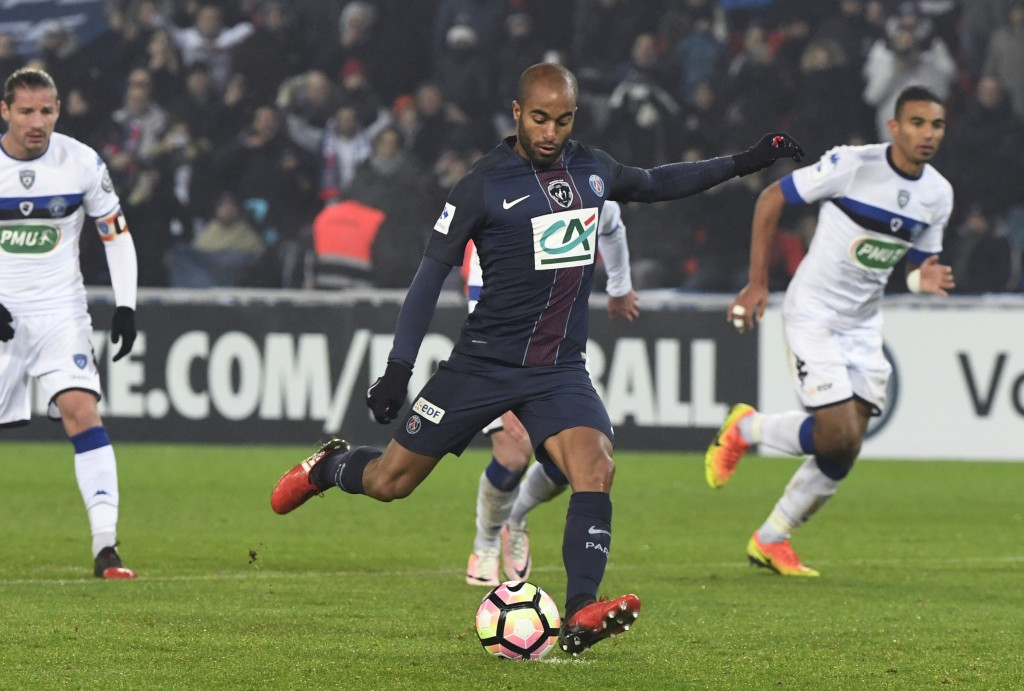 On the move? Lucas Moura could be on his way to Arsenal. (Photo courtesy - Alain Jocard/AFP/Getty Images)
