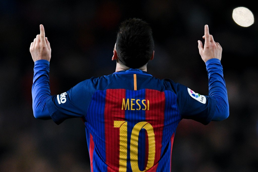 Back to his best - Lionel Messi had a 2016 to remember as he scored 51 goals for club and country. (Photo by David Ramos/Getty Images)